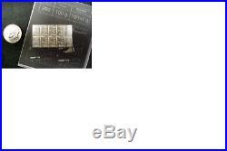 100 Grams. 999 Solid SILVER Valcambi Suisse Combibar (100x1gram bar)