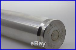 100 Troy Oz. 999Ag Solid Silver 30mm Cannon Bullet Bullion Bar