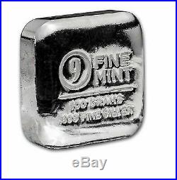 100g SOLID SILVER BULLION. 999 SPECULATE AS SILVER SOARS! UK INSURED MAIL