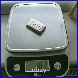 100g Solid Silver Ingot 999