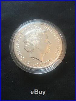 10X 2014 Solid Silver Britannia Mule Error Coin £2 Bullion Lunar Horse 2
