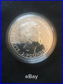 10X 2014 Solid Silver Britannia Mule Error Coin £2 Bullion Lunar Horse 3