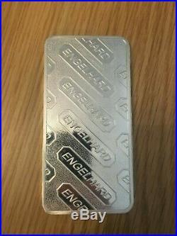 10 Oz Englehard Solid Silver Bar 10 Troy Ounce Bullion