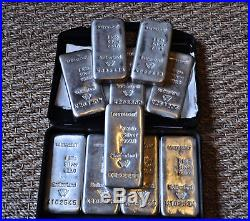 10 kg Fine Silver Ideal Investment 10 x 1 Kg / Kilo Bars Solid Silver Bullion