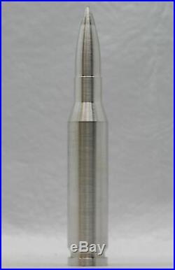 10 oz Silver Bullet. 50 Caliber Shell Solid. 999 Fine Bullion America JJ376