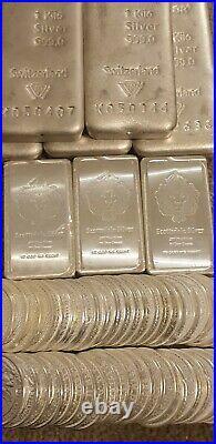 10 oz Silver Scottsdale Stacker Bar Fine Solid Silver. 999 Bullion Bar
