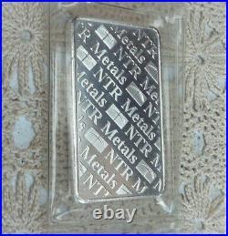 10oz. 999 Fine Solid Silver Bar