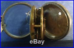 1795 ENGLAND FUSEE POCKET WATCH With KEY SOLID SILVER ORIGINAL DBW