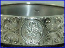 1883 VICTORIAN SOLID STERLING SILVER HINGED BANGLE BRACELET 25 g NICE