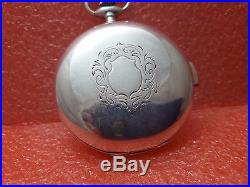 1920s Vintage Quarter repeater Pocket Watch 3 Covers solid silver