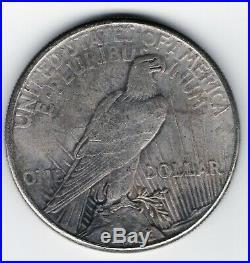 1928 P Paix Dollar, Clé Date, Rare, Haut Grade Solide Trouver Absolument Voir! #