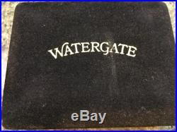 1973 EJ Aleo Watergate Hear See Speak No Evil Bars Solid Bronze Free Society