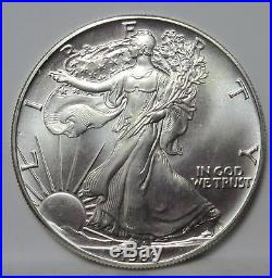 1986 SOLID DATE ROLL American Eagle Silver Dollars! BID PRICES