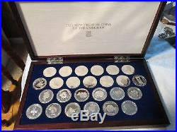 1988 British Virgin Islands $25 Silver Proofs 925% Solid Sterlinggorgeous