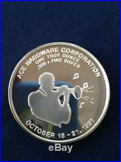 1991 Ace Hardware Jackson Square New Orleans 1991 Fall Show Silver Medal E4138
