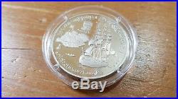 1991 CCCP RU Russia 1oz Solid Palladium Bullion Coin Novo Archangelsk Rare