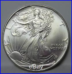 1994 SOLID DATE ROLL American Eagle Silver Dollars! BID PRICES