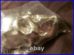 1/2 Kilo. 500g YPS 3D 999 Solid Silver SKULL Yeager's Poured Silver FREE SHIP