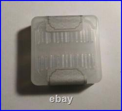 1 Gram Geiger Square Silver Bars Full Sealed Box of 30