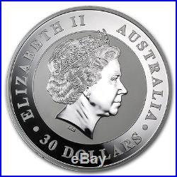 1 KG Kilo 2012 Solid Silver Australian Kookaburra Coin. 999 Fine Brand New