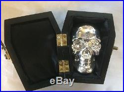 1 KILO YPS 3D 999 Fine Solid Silver SKULL Yeager's Poured Silver Hand poured