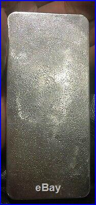 1 Kilo BETTS Silver Bullion Bar. 999 Solid Silver