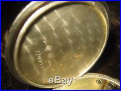 1. Solid Silver OMEGA GENEVE Pocket Watch. Working well