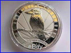 1kg Solid 999/1000 Royal Australian Mint 30 Dollars 2009 Silver Kookaburra Coin