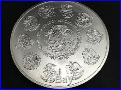 1kg Solid 999 Pure Silver Mexican Libertad Bullion 2010 Coin. Mint. In Capsule