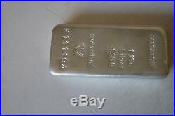 1kg Solid Silver Bar, Fine Silver 999.0, Scrap Etc