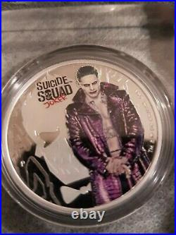 1oz. 9999 solid Silver Perth Mint Suicide Squad'The Joker