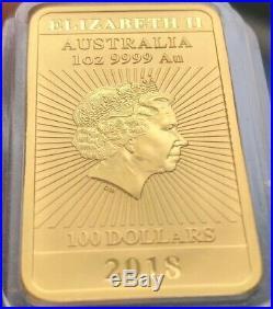 1oz Proof Gold Dragon Bullion Bar 2018 Australia Only 188 Made MINT Solid 24ct
