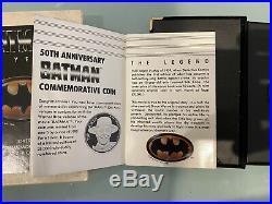 1oz solid silver RARE BATMAN JOKER 50th Anniversary Limited Edition