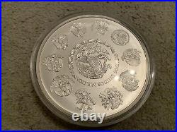 2008 Mexico Libertad Angel Solid. 999 Silver Bullion 1 Kg Coin