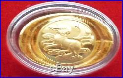 2011 China Lunar Year Rabbit Solid Fine. 999 Gold 5 Gram Tael Ingot Bar Box Coa