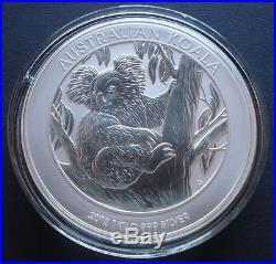 2013 1kg Kilo SOLID SILVER Koala Coin 1/649