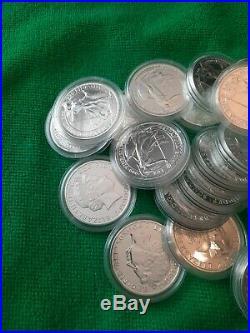 2014 x20 Britannia Solid Silver £2 Mule With Lunar Horse Reverse 1oz Coins