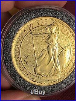 2016 One Ounce 1oz Solid Gold Britannia Bullion Coin