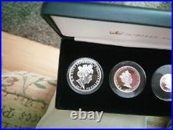 2017 100th Anniversary Of The House Of Windsor Solid Silver Proof Coin Set