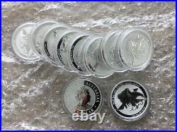2021 Australian Wedge Tailed Eagle Solid Silver x10 Bullion Coins