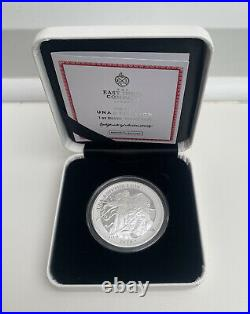 2021 Una And The Lion Solid Silver Proof 1oz Coin Ltd Edition East India Company