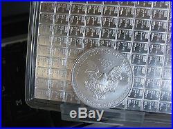 20 (1 tube) 1oz Solid Silver. 999 Eagles 2012 BU (20 troy oz) £444 Inclusive