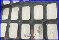 20 X 1oz Silwertowne Silver Bullion Bars Sealed 999 Solid Silver
