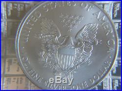 20 X 1oz Solid Silver. 999 Eagles 2012 BU (20 troy oz) £405 Delivered