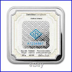250 gram Silver Bar Geiger Edelmetalle (Original Square Series) SKU#155913