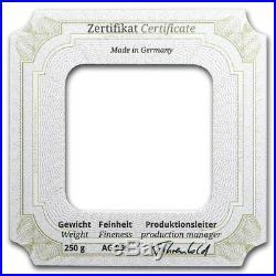 250 gram Silver Bar Geiger Edelmetalle (Original Square Series) T155913
