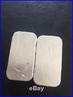 2 X 100 Grams OSB Silver Bullion Bars 999 Solid Silver
