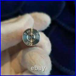 2 X Winchester. 308 (7.62 Nato) 2 Oz. 999 Solid Silver Bullets