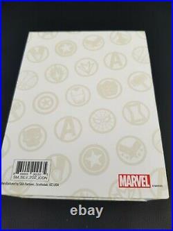 2 oz. 999 Solid silver Marvel Spiderman Mask