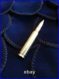 308 (7.62 Nato) 2 Oz. 999 Solid Silver Bullet